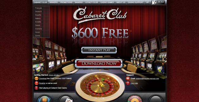 cabaret casino UK