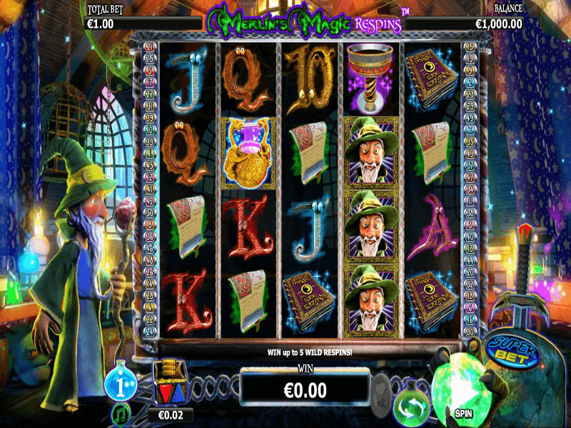 Merlins Magic Respins - Christmas Slot - Play for Free Now