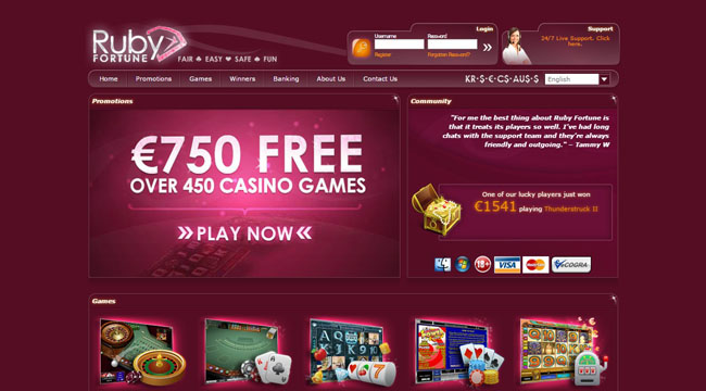 ruby fortune casino UK Review