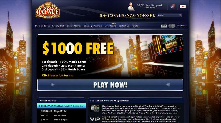spin palace casino fun play